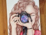 Drawing Of Girl with Camera Girl with A Camera Part 3 A I Drew This 2x In 2014 and now I