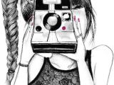 Drawing Of Girl with Camera Pin by Angelina Alcoverde D On Things I Want to Draw Drawings