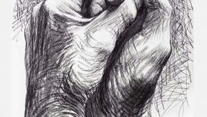Drawing Of Hands Clasped Cave to Canvas Alecshao Henry Moore the Artist S Hands 1974 Two