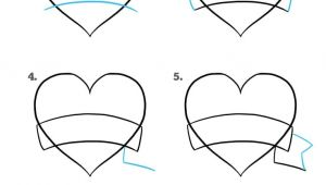 Drawing Of Heart Pictures How to Draw A Mother S Day Heart Really Easy Drawing Tutorial