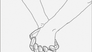 Drawing Of Joining Hands 4 Ways to Draw A Couple Holding Hands Wikihow