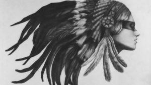 Drawing Of Native Girl American Indian Women Drawings Indian Art Girl Native American