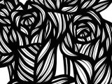 Drawing Of Nature Flowers Flower Flowers Nature Plant Blackandwhite Art Arts Artist