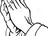 Drawing Of Praying Hands with Cross Praying Hands Clipart Stock Photo Picture and Royalty Free Image