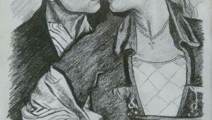 Drawing Of Rose Dawson Jack E Rose Drawings Art Titanic Drawings Titanic Art