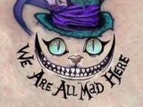 Drawing Of the Cheshire Cat Cheshire Cat Alice Wonderland We are All Mad Here Enzo Gigante Mad