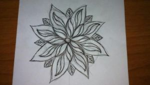 Drawing Of Typical Flower Flower Sketch Lotus Sketch Neo Traditional Sketch Tattoo Flash Ink