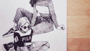 Drawing Of Urban Girl All that Sass Sketch Sketchbook Illustration Design