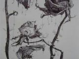 Drawing Of Wilted Rose 73 Best Dead Flowers Images Flower Art Botanical Art Dying Flowers