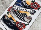 Drawing On Vans Ideas Your Weekly Art Fix by Rosey Jones Tattoo Ideas Pinterest