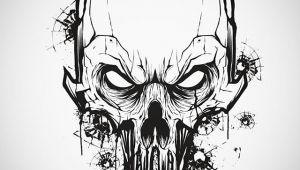 Drawing Punisher Skull Little Vector Mouse Click Warm Up with A Punisher Skull Punisher