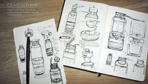Drawing Q Significa O Va Cio Diario Tambem Inspira O Design De Produto Industrial