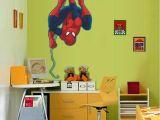 Drawing Room Cartoons Spiderman Cartoon Wall Sticker Pvc Self Adhesive Movie Wall Decal