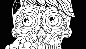 Drawing Skull Mexican Sugar Skulls An Adult Coloring Book with Mexican Calavera Designs