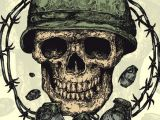 Drawing Skull Model How to Draw A Military Skull Step by Step Skulls Pop Culture