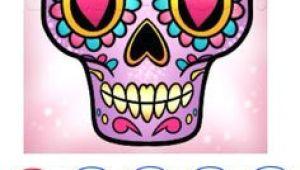 Drawing Sugar Skulls Tutorial 64 Best Sugar Skull Painting Images Painted Rocks Rocks Rock