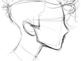Drawing Things In Text Drawing Stuff Cool Drawings Line Drawings Hair Drawings Simple