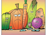 Drawing Vegetables Meme Rubes by Leigh Rubin tos Steamed Vegetables I Love Food Humor Meme