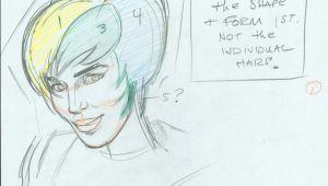Drawing Warm Ups John K Stuff Cartoonist Warm Up Exercises Girls Hair Drawing