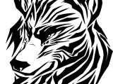 Drawing Wolf Face Step Step Draw A Tribal Wolf Tribal Wolf Step by Step Drawing Sheets