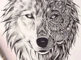 Drawing Wolf Face Step Step Pin by Joy Henke On Copic Markers Wolf Tattoos Tattoos Geometric