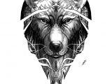 Drawing Wolf Line Art Wolf Line Dotwork Practice by Deadmanone On Deviantart