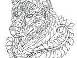 Drawing Wolf Nose Fresh Black and White Wolf Coloring Pages Nicho Me