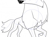Drawing Wolf Nose Learn How to Draw Arctic Wolf From Animal Jam Animal Jam Step by