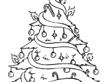Drawing Xmas Tree Christmas Tree Pictures to Draw for Adults Merry Christmas