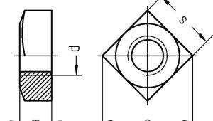 Drawings 8 Pro Price Dresselhaus Vierkantmuttern Abm 8 Din 557
