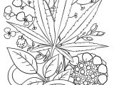 Drawings Easy Weed Marijuana Coloring Pages Unique Kids Coloring Page Simple Color Page