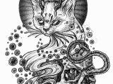 Drawings Of A Evil Cat Evil Cat by Julia Vysotskaya Via Behance Cool In 2019 Pinterest