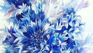 Drawings Of Blue Flowers Pin by Miss Boomb On Flowers In 2018 Watercolor Art Floral