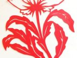 Drawings Of Corn Flower Cut Paper Design Cornflower Silhouette Laser Die Cuts Paper Cut