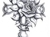 Drawings Of Crosses with Roses 22 Best Cross Flower Tattoo Images Tatoos Cross Tattoo Designs Ink