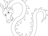 Drawings Of Dragons Simple How to Draw Chinese Dragons with Easy Step by Step Drawing Lesson