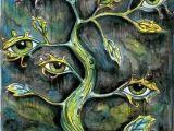 Drawings Of Eyes for Sale 7 Eye Tree Version 2 Weia D Woa Ld Pinterest Art Surreal Art