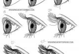 Drawings Of Eyes Side View How to Draw Realistic Eyes From the Side Profile View Step by Step