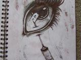 Drawings Of Eyes with Pen Needle In Eye Drawing Ballpoint Pen Horror Artsy In 2019