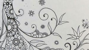Drawings Of Flower Beds Secret Garden Gardens Doodles and Zentangles