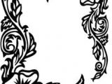 Drawings Of Flower Borders 1383 Best Border and Corner Designs Images Moldings Picture Frame