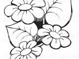 Drawings Of Flower Borders Flowers Clip Art Border Black and Whiteimage Gallery Image Gallery