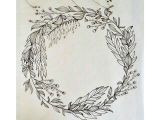 Drawings Of Flower Wreaths Pin by Em On A R T Drawings Ink Doodles