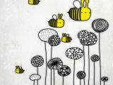 Drawings Of Flowers and Bees Image Result for Flowers and Bee Pencil Drawing Va Elia Ky