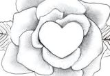 Drawings Of Flowers and Hearts Easy Heart Drawings Dr Odd