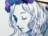 Drawings Of Flowers Crowns Full Video On My Tumblr Link In Description More Galaxy Flower