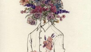 Drawings Of Flowers Tumblr Love and Freedom Sebastiane Art Drawings Illustration Art