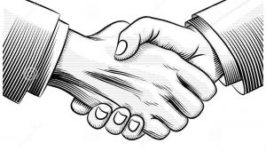 Drawings Of Handshakes Sketch Handshake Download From Over 35 Million High Quality Stock