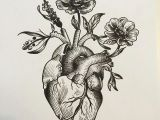 Drawings Of Heart Flower Pin by Tanara Guthrie On Piercings and Tattoos Tattoos Anatomical