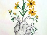 Drawings Of Heart Flower Primavera Flores Poesia Cor A A Arte Amor Alex In 2019